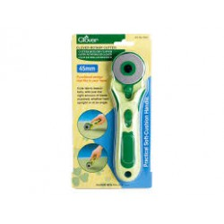 Clover Cutter rotatif 45 mm