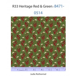 R33 Heritage Red & Green...