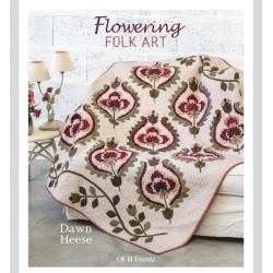 Livre Flowering Folk Art