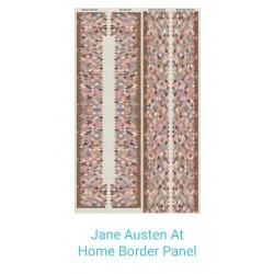 Jane Austen At home panneau...