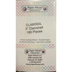 Clamshell 3'' (180 unités)...