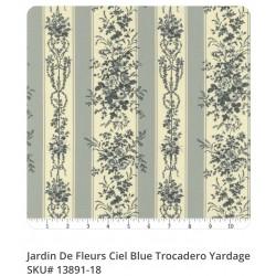 Jardin de Fleurs Ciel Blue...