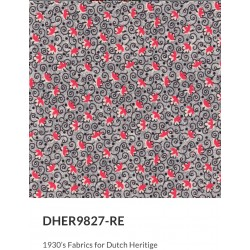 1930's Fabrics DHER 9827-RE