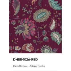 French Indiennes DHER 4026 RED