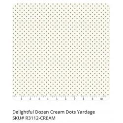 Delightful Dozen  R3112 Cream